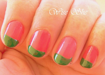 Nail art designs in India