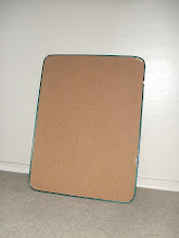 Cork Board Before