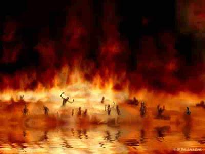 el infierno en el centro de la tierra: