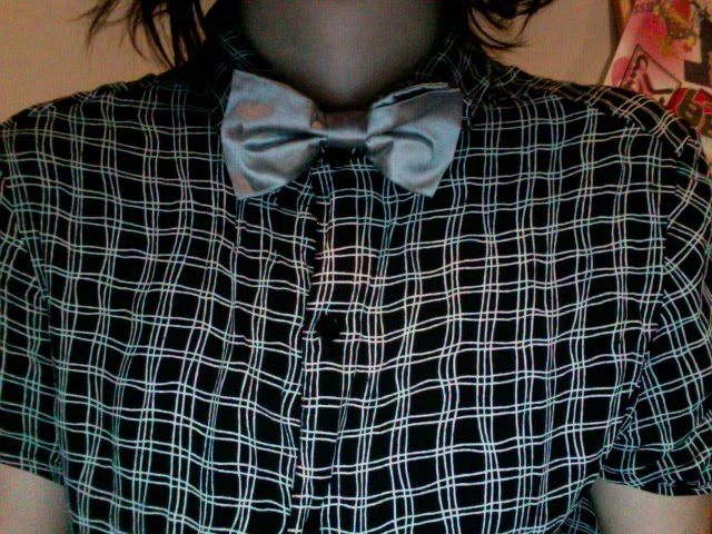 Tie from Angus Black that I always wear because its cool
