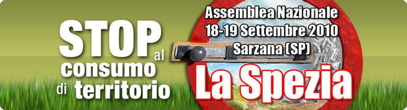 Stop al Consumo di Territorio La Spezia