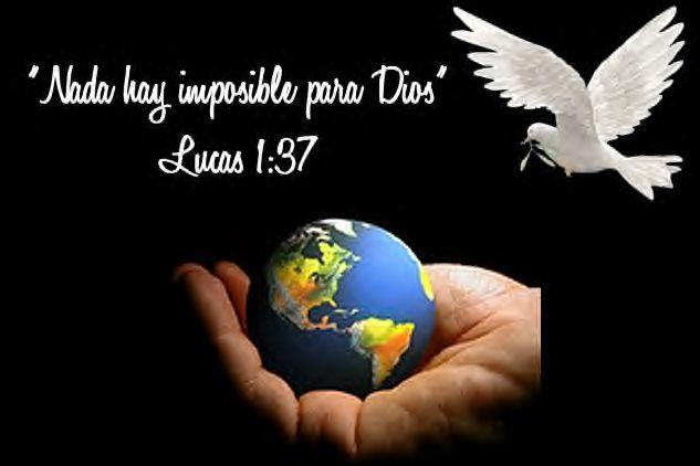 Padre nada es imposible para ti