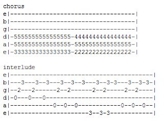 Tabs And Chords Stay Together For The Kids Blink 182