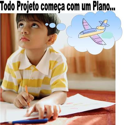 Todo Projeto começa com um Plano...
