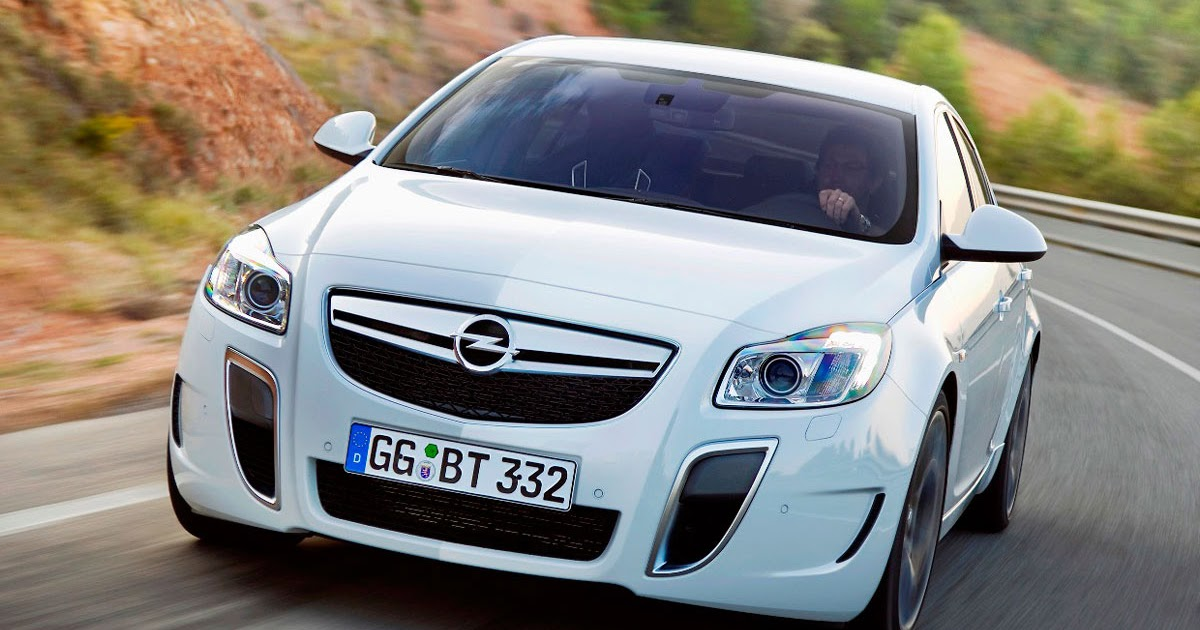 Sports Cars Official Opel Insignia Opc Technology Revealed