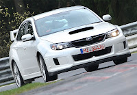 2011 Subaru STI Sedan Nurburgring Record