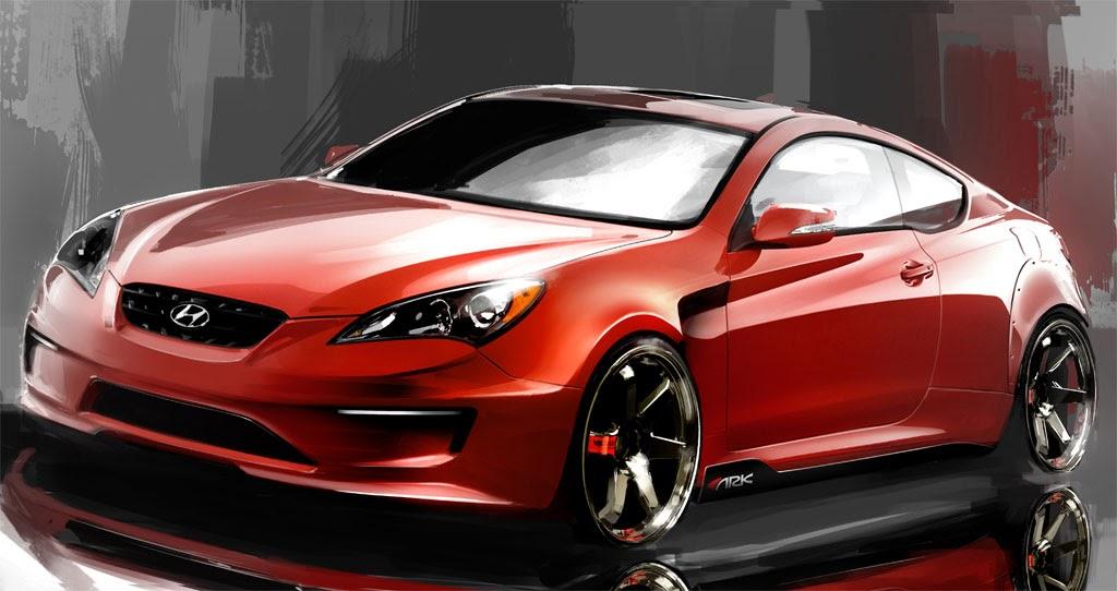 Sema Show Ark Hyundai Genesis Coupe