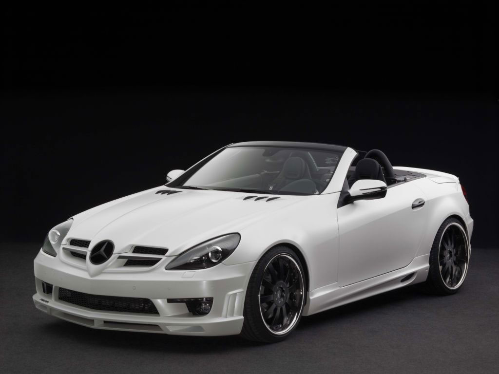 The Mercedes-Benz SLK has just