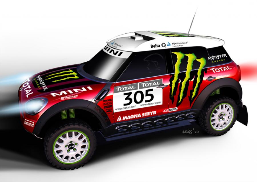 X-Raid MINI ALL4 Racing revealed for Dakar