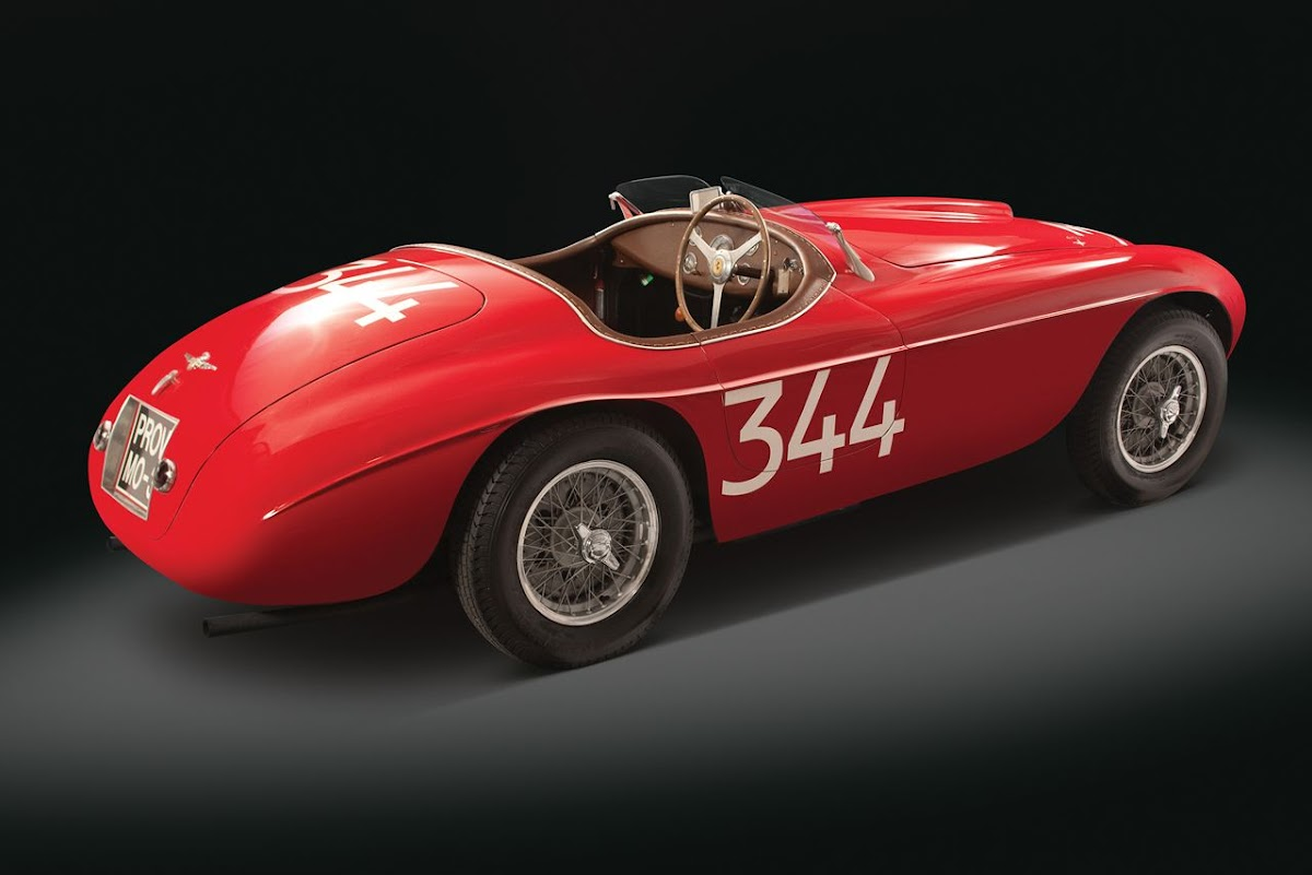 1949 Ferrari 166 MM Touring Barchetta