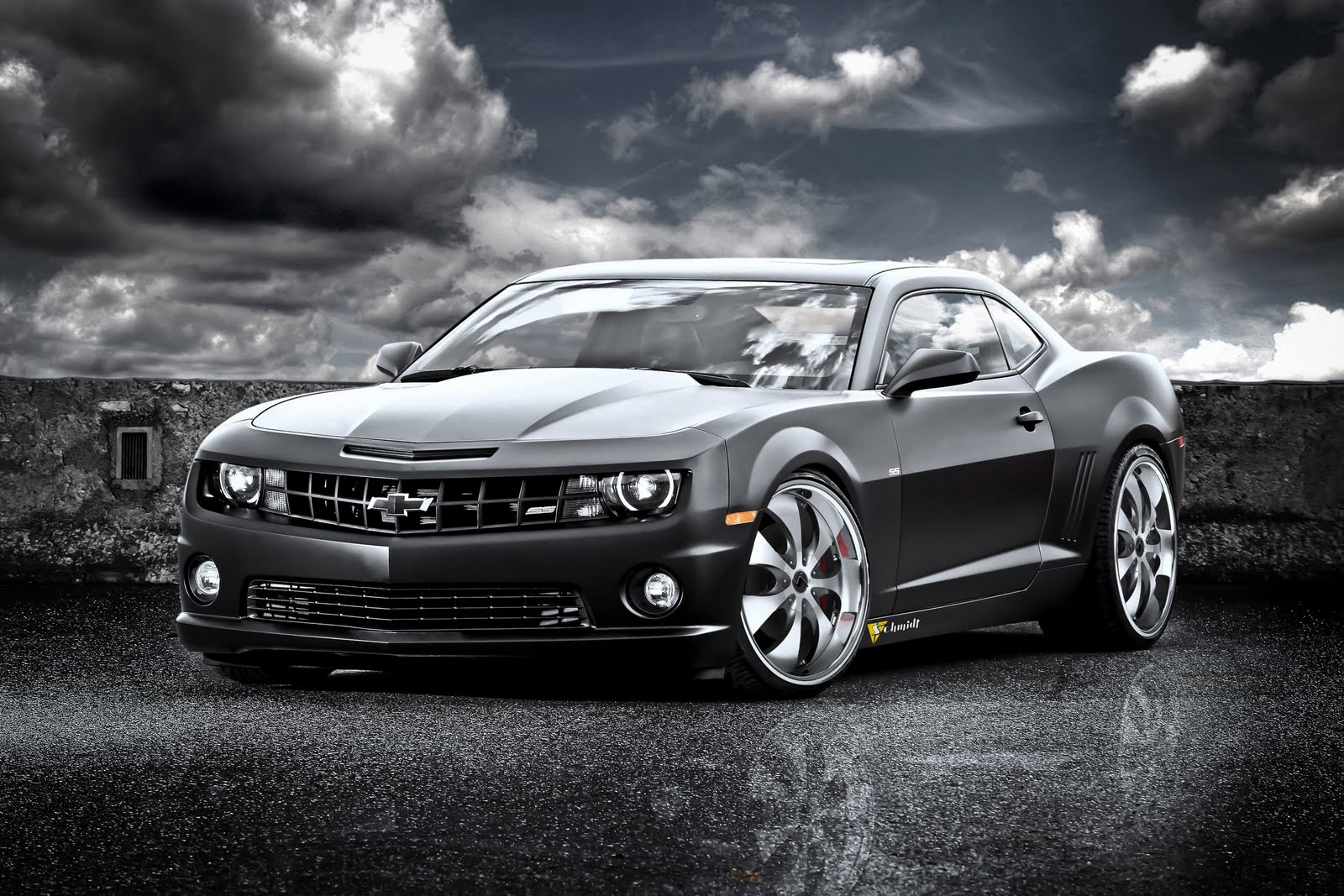 azuri car chevrolet camaro ss black cat. Black Bedroom Furniture Sets. Home Design Ideas