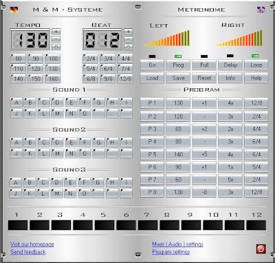 Программа Metronome Plus v1.004