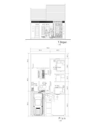 Desain Kamar Mandi Ukuran Kecil on Rumah Sendiri Di Kavling Ukuran 7x12 5m