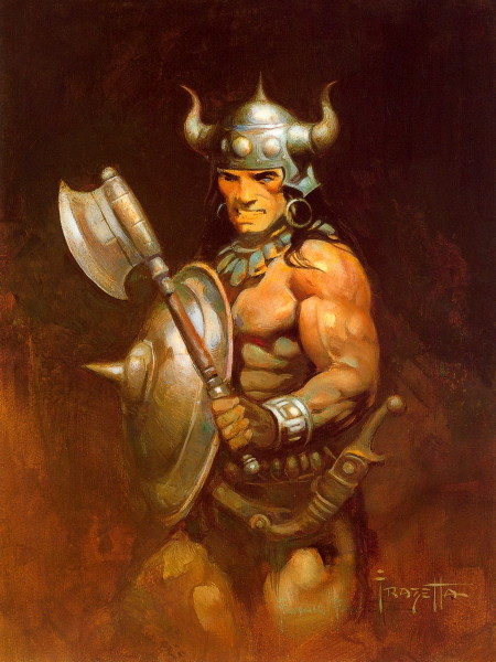 Frazetta Conan Conan the barbarian frazetta. Conan The Destroyer Throne