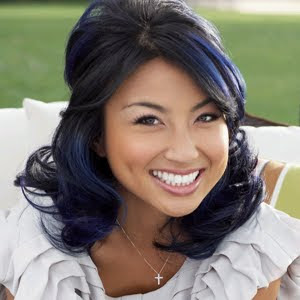 jeannie mai   HOT  HOT  HOT hair colorJeannie Mai Hair