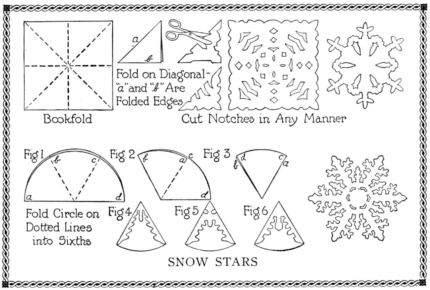 cool how to make snowflakes. Black Bedroom Furniture Sets. Home Design Ideas
