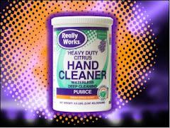 Limpiador de mano.