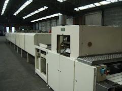 Maquina para la fabricacion de galletas.