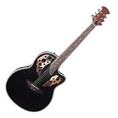 Guitarra electroacustica.