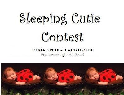 Sleeping cutie contest