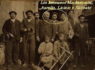 Los Machancoses, poco después de volver de la mili