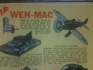Wen Mac Airplanes http://classictoymuseum.blogspot.com/2010/01/amf-wen-mac-p-26-pursuit-plane.html