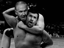 Antichrist Netanyahu VS Prince of Persia Ahmadinejad