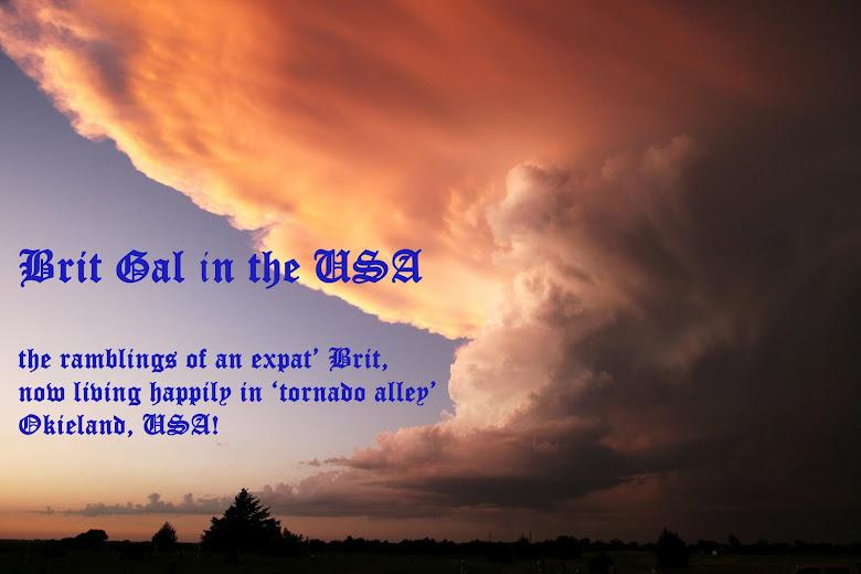 Brit Gal in the USA