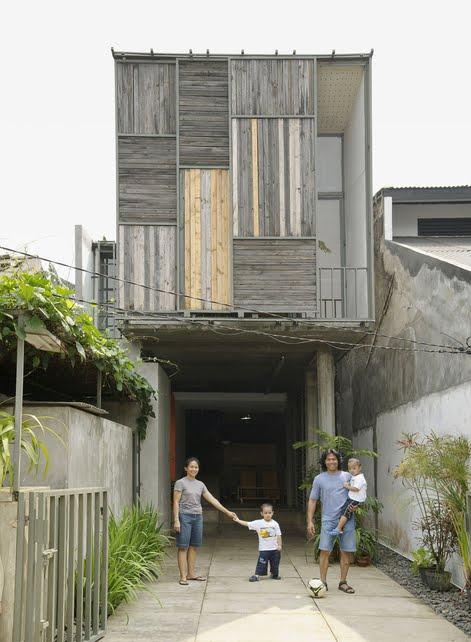 Neocribs Modern Tropical House Jakarta Indonesia Djuhara - Modern house jakarta