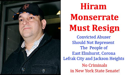 Hiram <br>     Monserrate <br>     Must Resign