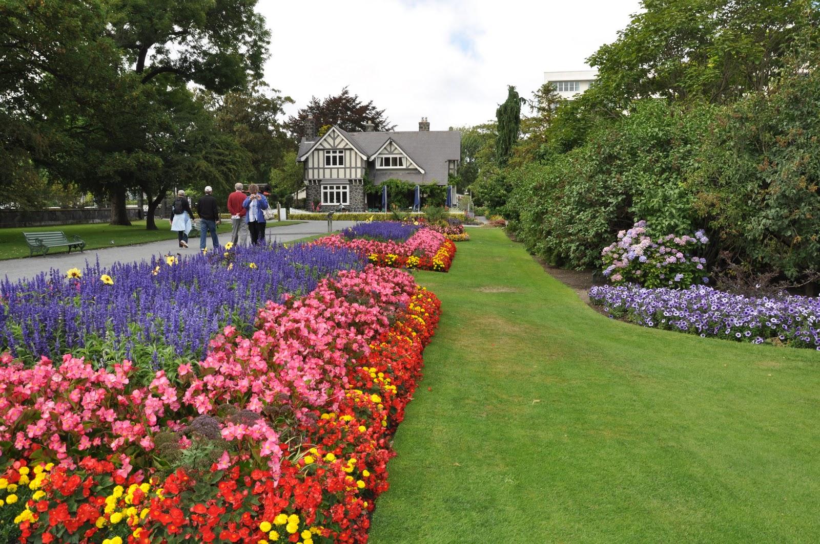 christchurch nz amazing christchurch botanical gardens