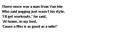 Funny Poems - Funny Limericks