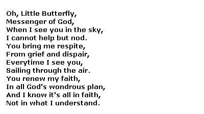 Poem for Funeral