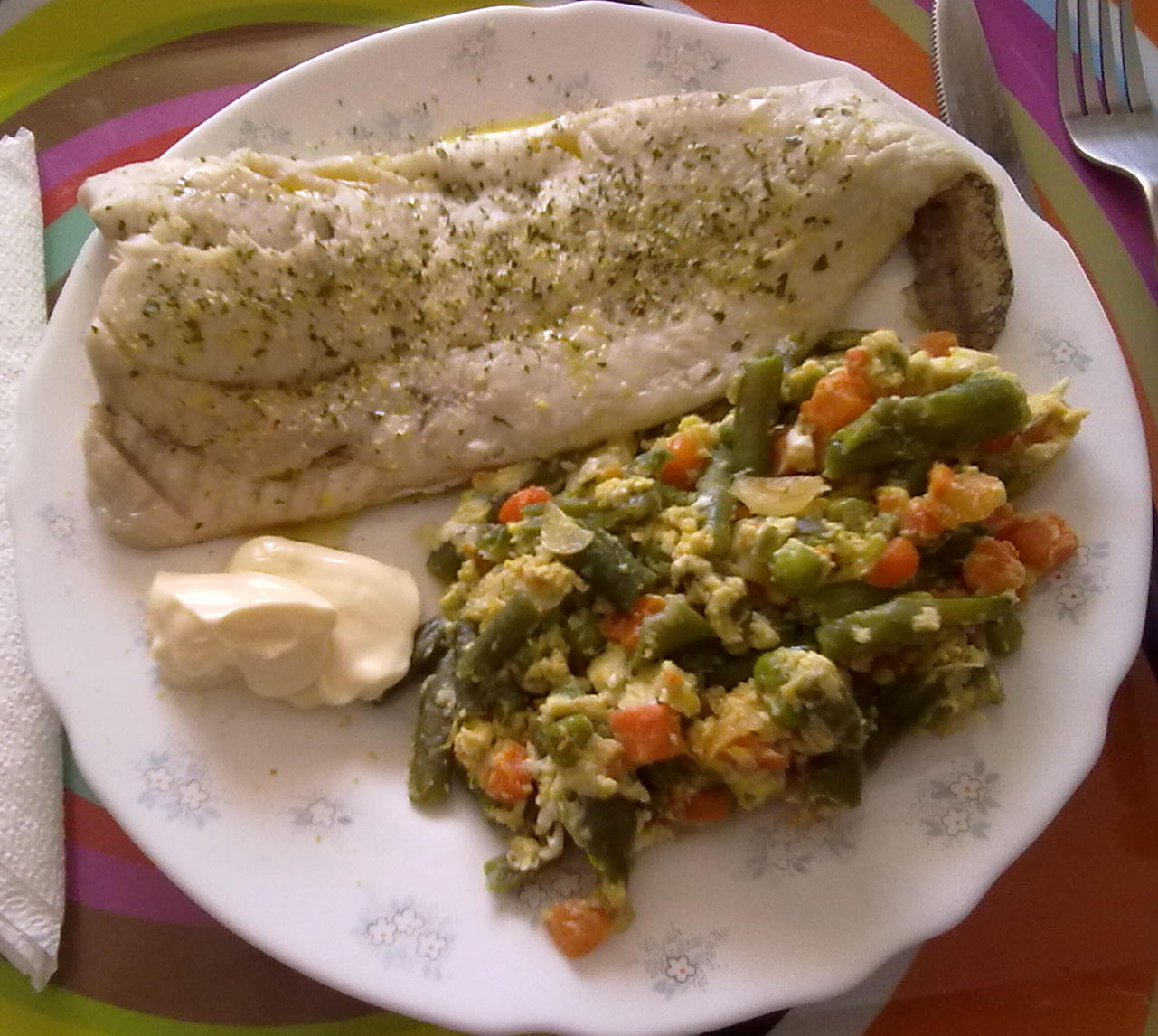 Mi alacena plato de pescado r pido for Platos rapidos de cocinar