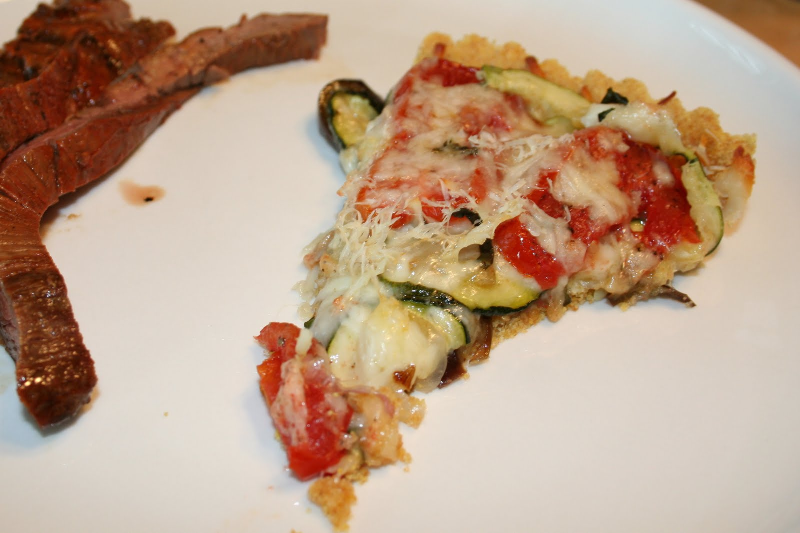 Janis Cooks: Cornmeal-Crusted Roasted Ratatouille Tart