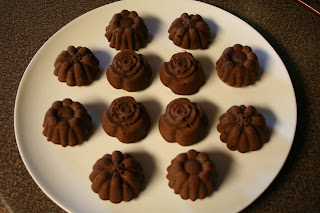 Pampered Chef Mini Chocolate Molten Cakes