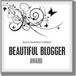 My First Blog Award from Brown Eyed Belle!!!