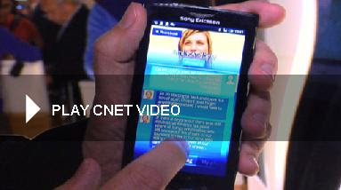 Sony Ericsson Xperia X10 Hands-on