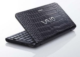 Sony Vaio P Crocodile Skin Design