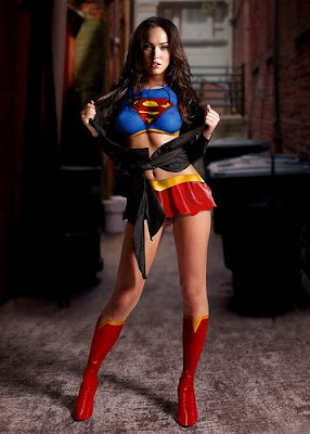 megan fox superwoman