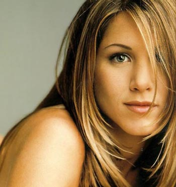 jennifer aniston hair color. aniston hair colour.