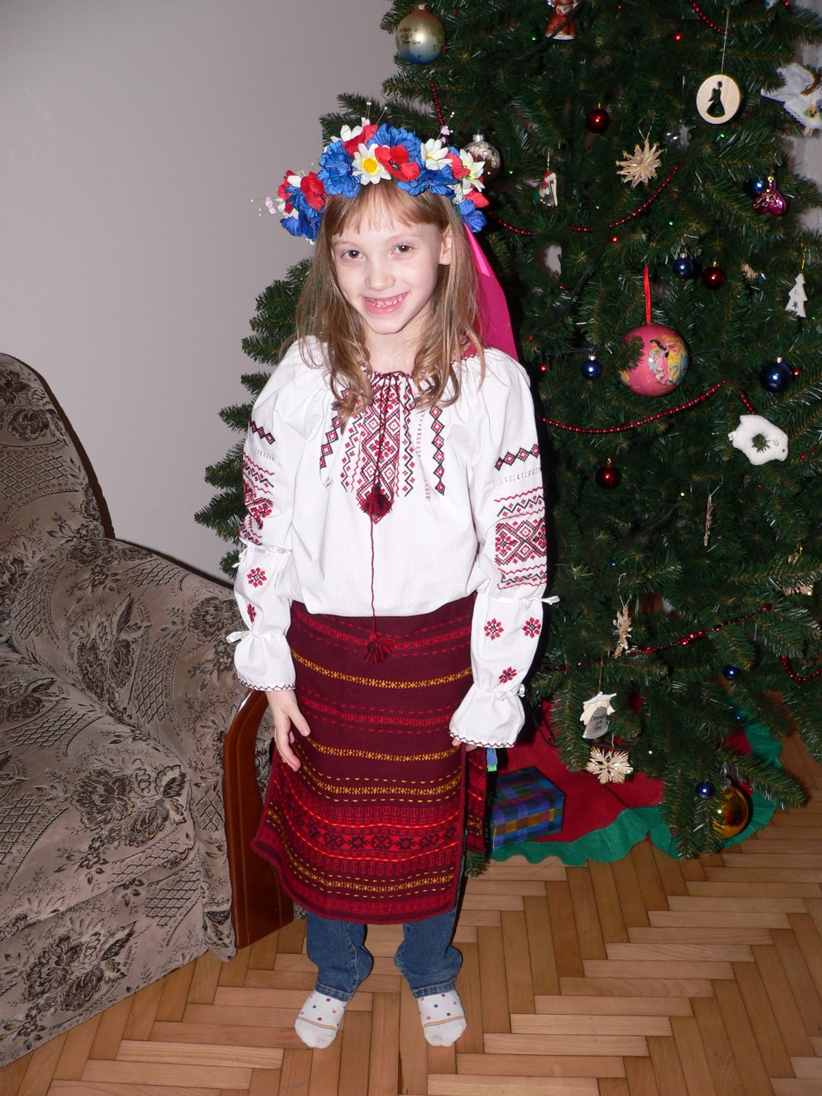 Christmas tree dress up images - It Is Common For People To Dress Up For New Years Or Where Costumes Our Kids Are Very Happy About This Since They Don T Have Halloween Not A Ukrainian