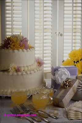 طرز درست ماکت کیک تولد عکسینه: کیک شیرینی نان