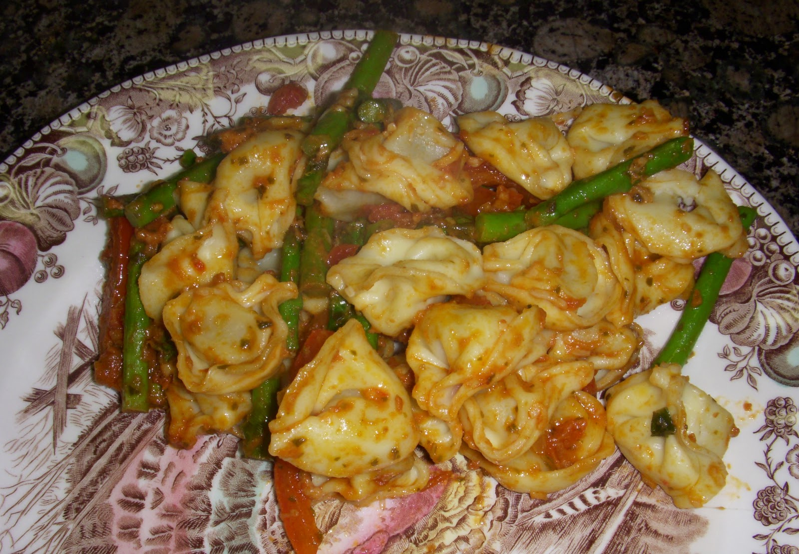 Chicken Tortellini with Asparagus – Dallas Duo Bakes