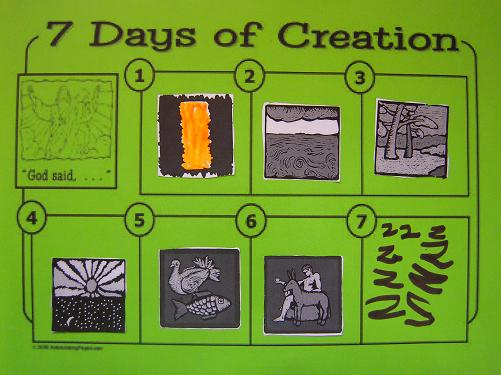 Gods 7 Days of Creation http://allthatsgoood.blogspot.com/2010/12/in-begining-god-created.html