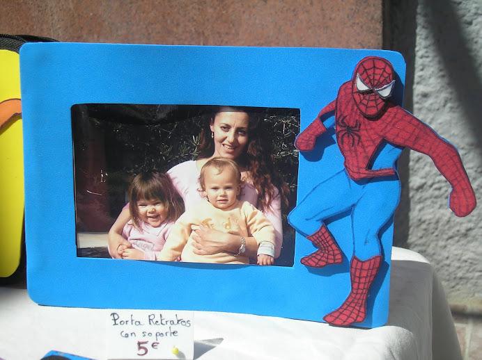 porta retrato con soportepara foto 15x10cm Spidermann