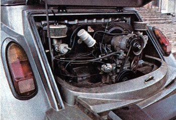 MP Lafer TI: motor VW