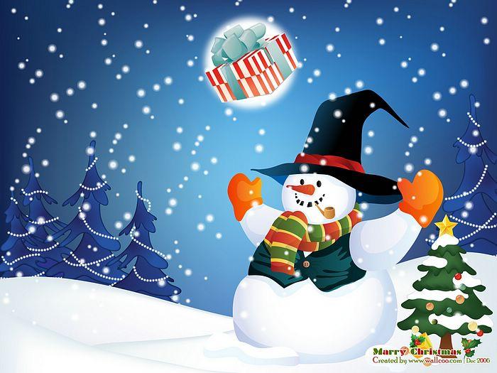 聖誕快樂 .就是要 幸福 .希望祝福像雪片一般飛來.