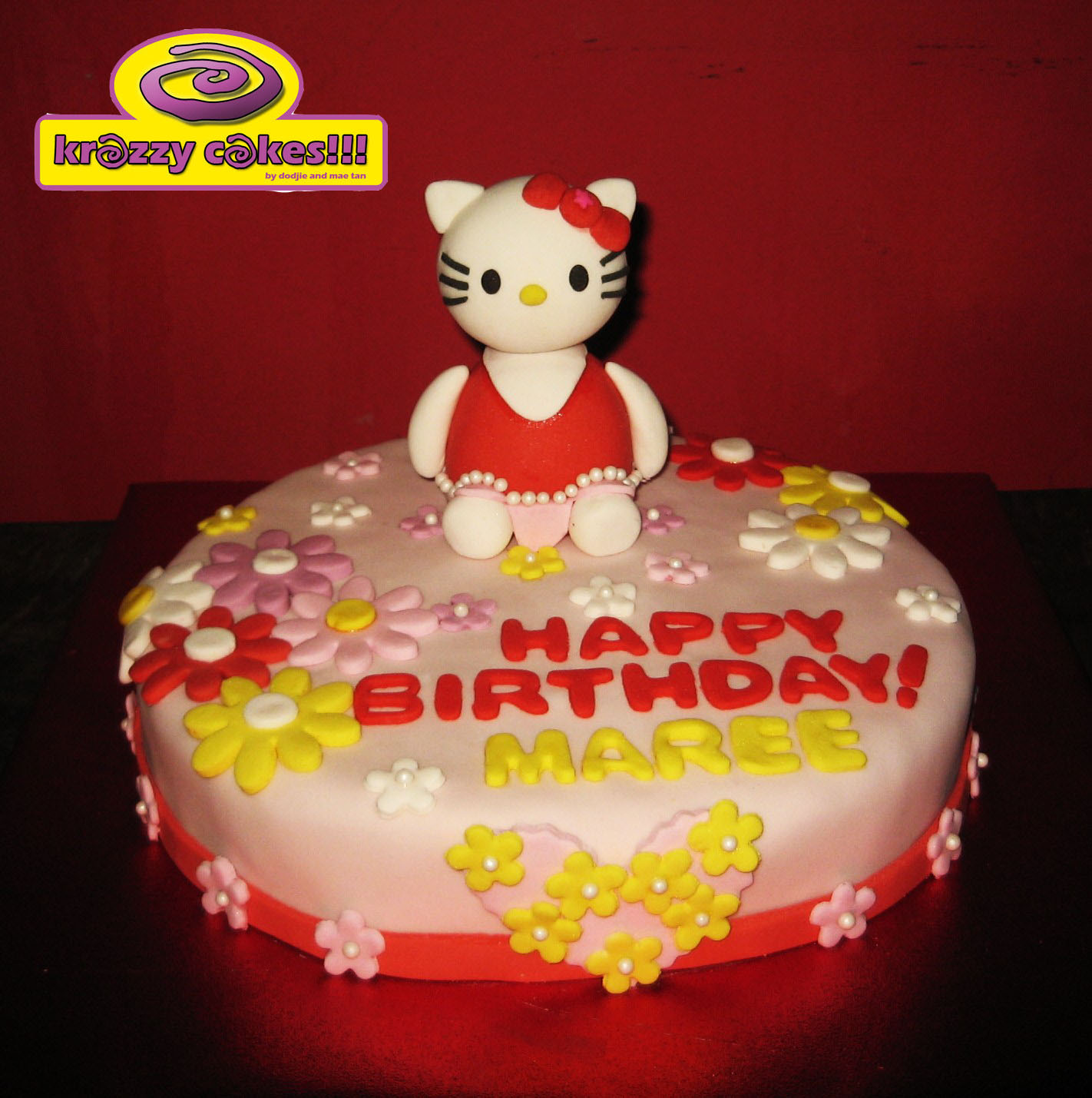Hello Kitty Baby Shower Cake Las Vegas Custom Cakes Wallpaper Picture