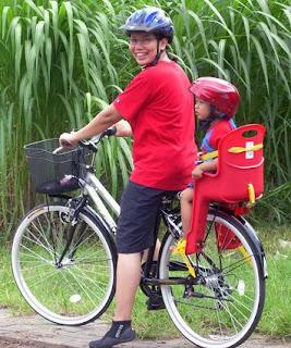 blog thetrekkers.com: Boncengan Sepeda Untuk Anak Balita